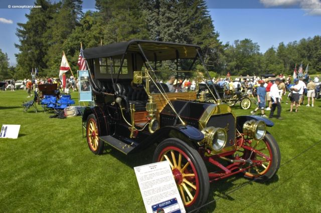 1910 Imperial Model 35 Touring Car with Rotisserie Restoration