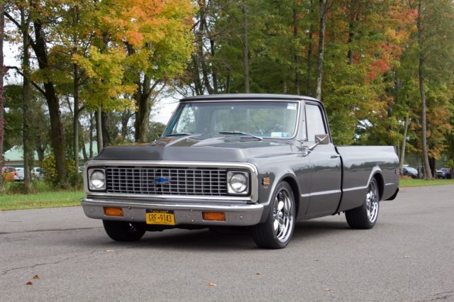 1972 c10 454 big block 700r4 trans, storm gray