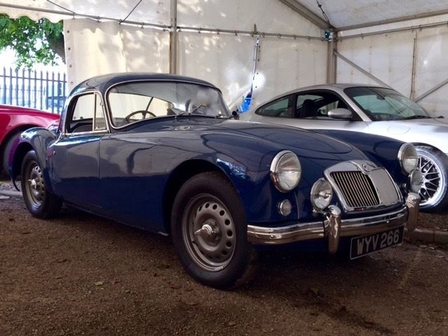 MGA Rare Twin Cam COUPE RHD
