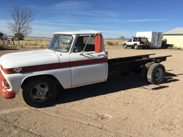 1966 GMC Truck C20 Dually 305E V-6 4-Speed