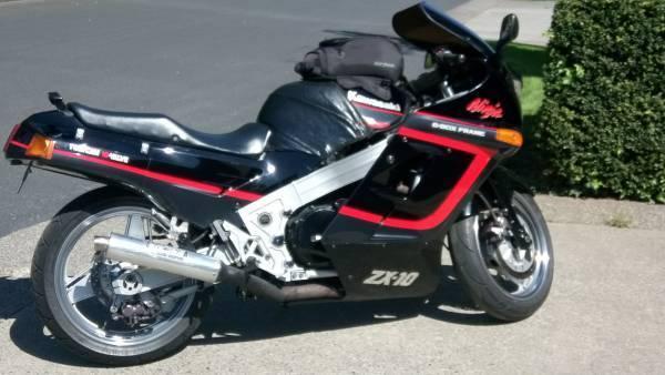 1989 Kawasaki ZX 10