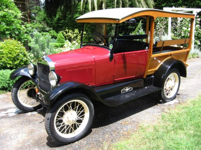 1927 Model T Ford Shooting Brake