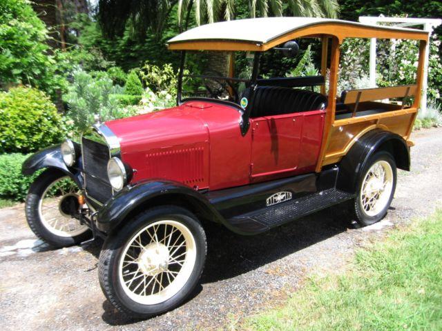 1927 Model T Ford Shooting Brake