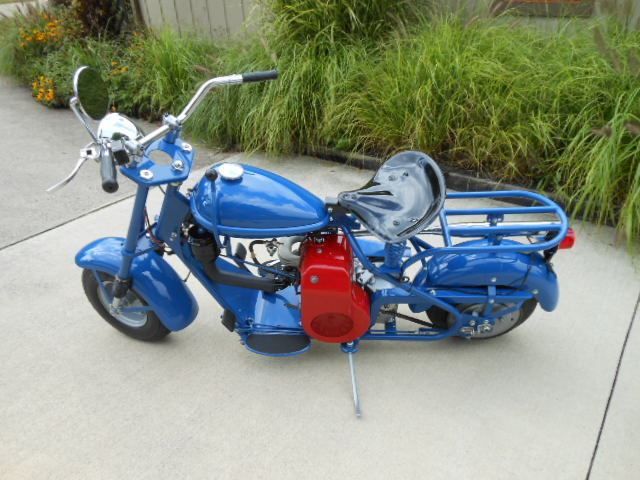1957 Cushman Eagle Motor Scooter