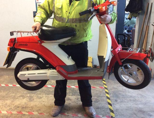 Yamaha Passola 50cc scooter