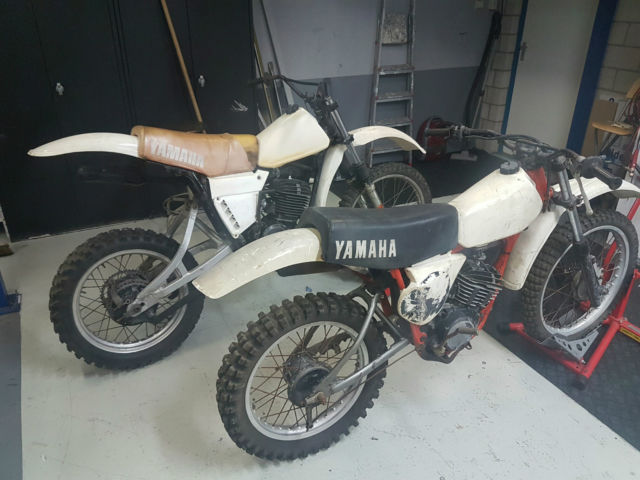 Yamaha YZ 400 1979 -& YZ 125 1977 - Package deal !!! 2 bikes