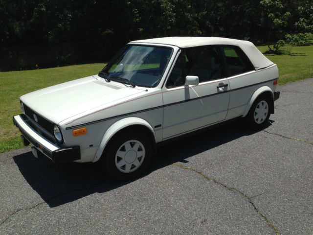 1986 VW Cabriolet 1.8L