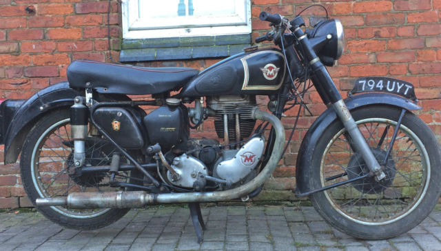 1953 Matchless G80S, ride-restore, good runner with V5C