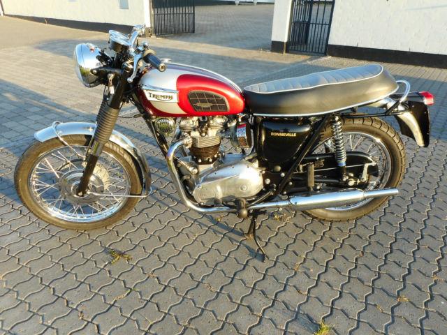 Triumph Bonneville 1970 Great Looking Motorcycle