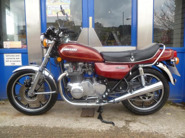 Classic Kawasaki Z750 Twin in Lovely Overall Condition.