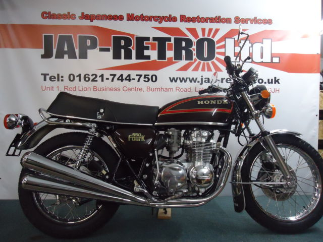 Honda CB550 Four K3 - Fully Restored