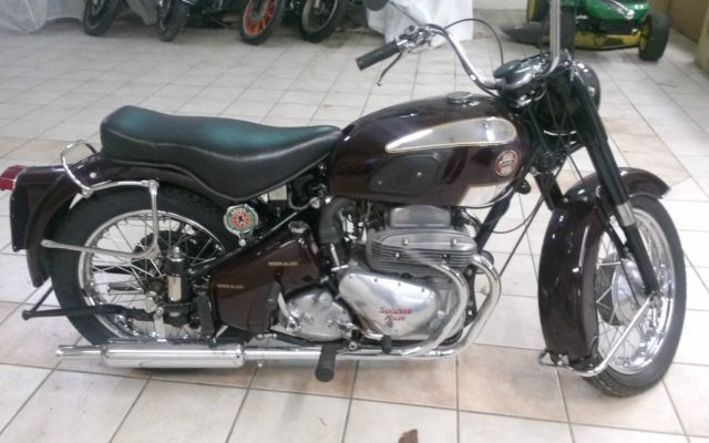 1956 Ariel Square Four Mark II, Excellent Restoration  Very Rare Motorcycle