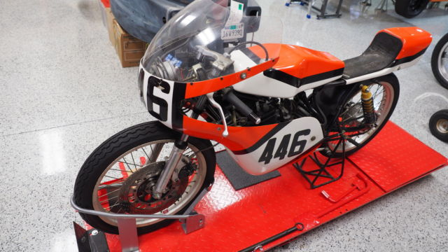 1977 Honda MT125R Road Racer with extensive spares package - MT125