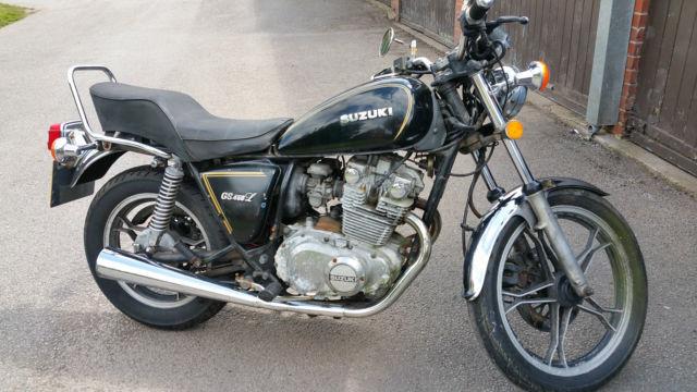 Suzuki GS450 custom for restoration.