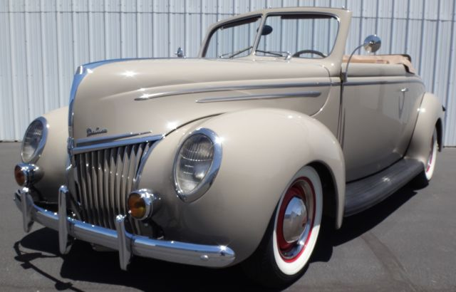 1939 Ford Deluxe Rumble Seat Convertible Coupe, Model 91A, All Henry Ford Steel!