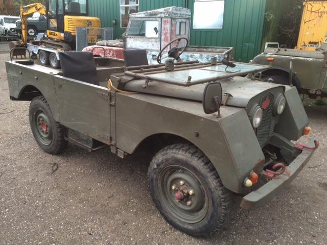 "Minerva 4x4 - Based on Series 1 Land Rover 80"" Project"