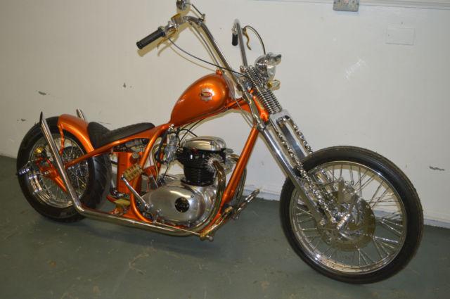 BSA A65 SO-LOW Chopper, Famous Dorito's advert bike,ABSOLUTELY STUNNING