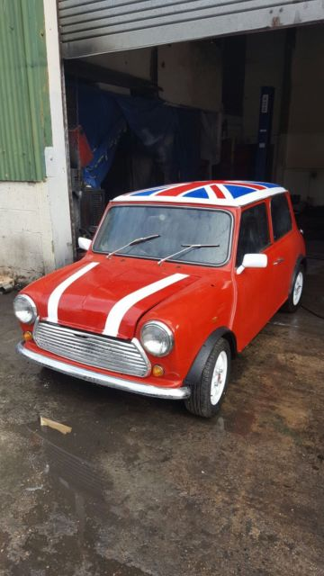 1986 Austin Mini Mayfair
