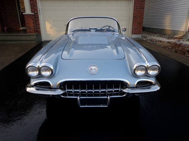 1958 CORVETTE 283 DUAL CARBS 4 SPEED BOTH TOPS PRIVATE SELLER AMAZING ORIGINAL