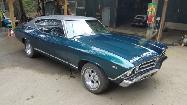 1969 Chevrolet Chevelle 2 door v8 automatic