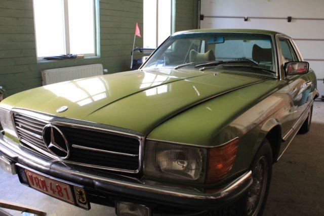 Mercedes W107 280SLC