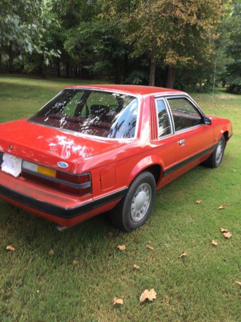 1985 Mustang LX Coup 5.0  Low mile survivor