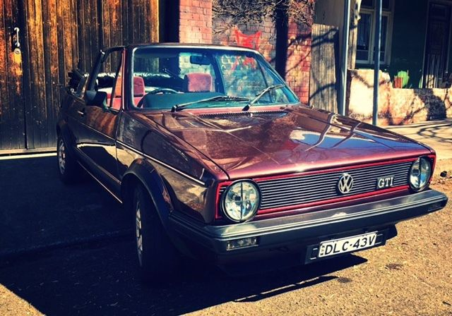 1983 Vw Golf Mk1 Gti Karmann Cabriolet For Sale Stanmore Nsw Australia Automotoclassicsale Com