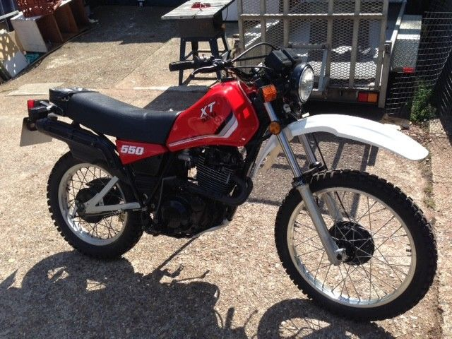 Yamaha XT 550 XT550 classic enduro trials