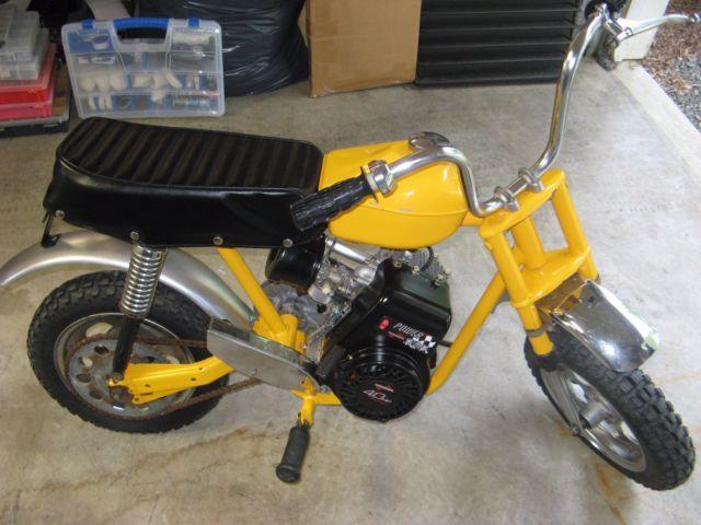 1970 RUPP scrambler minibike