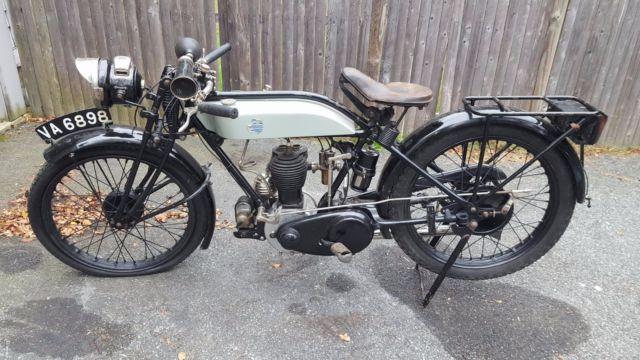 1927 Triumph Motorcycle N Model older Restoration 500CC single