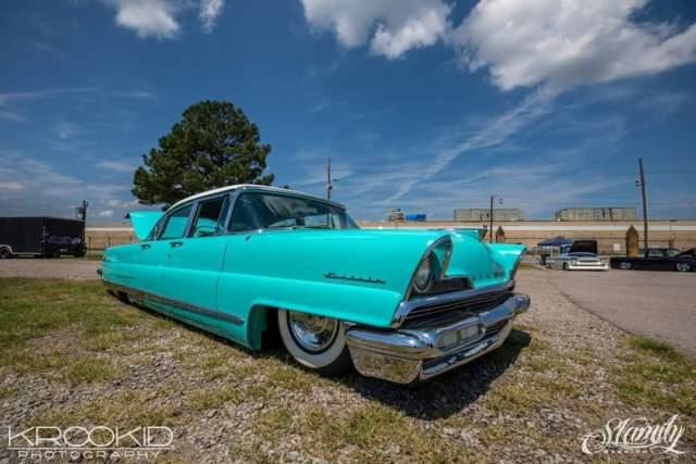 1956 Lincoln Capri Rare Car 63K 3 owner Air Ride Custom