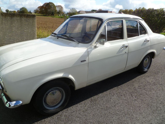 Ford Escort 1.1L LHD 1971  1 owner
