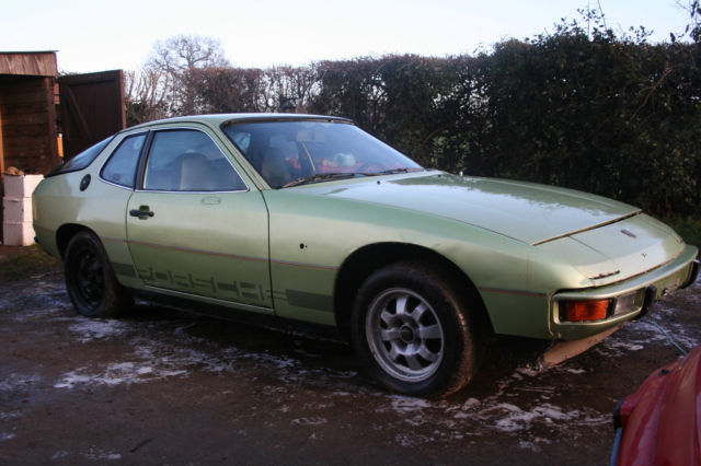Porsche 924 1976 ! LHD very early rare car Project