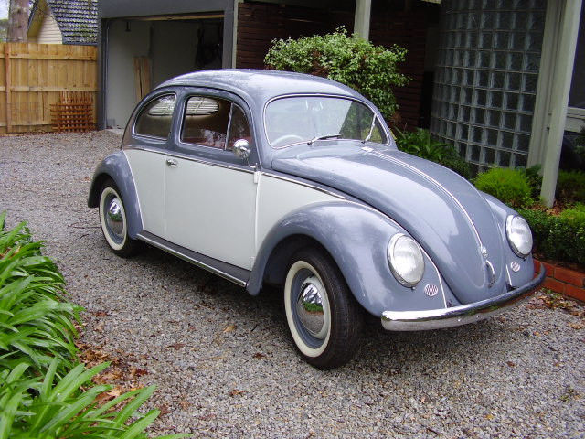 VW beetle OVAL 1956  Full body off restoration to origininal