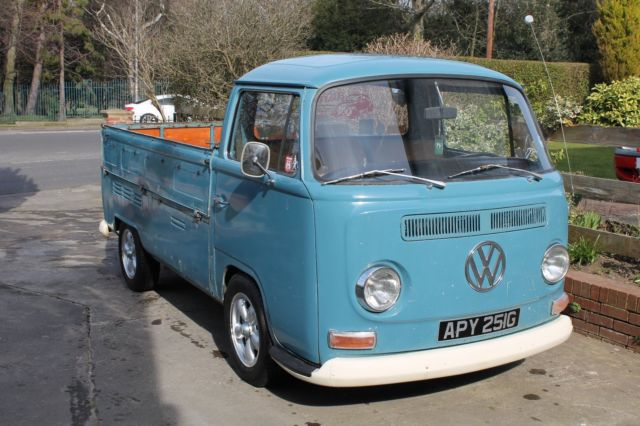 VOLKSWAGEN VW EARLY BAY SINGLE CAB 1968