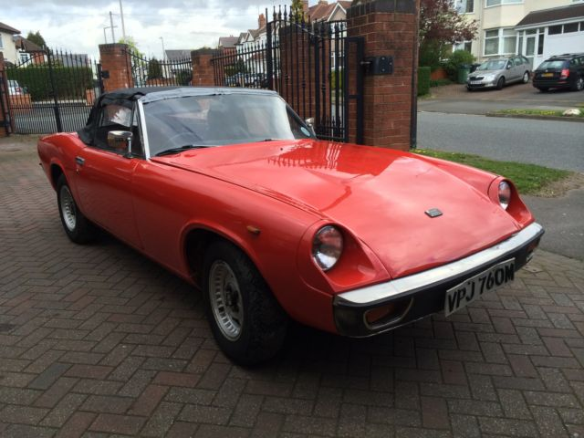1974 Jensen Healey Convertible Red