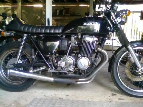 Honda CB750 K6 Cafe Racer 1976 model  #### NO RESERVE ##### UNREG. AS IS