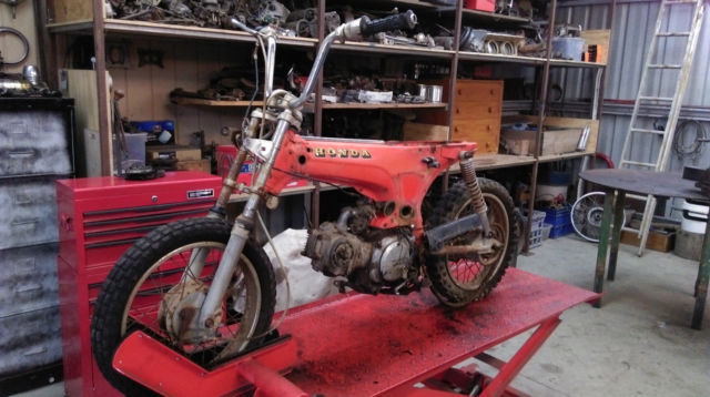 1970s Honda st90 with spare engine! DAX CL ST CT 70 monkey minibike