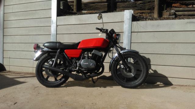 1976 Yamaha rd400 420cc big bore RD Cafe racer rd350 rz