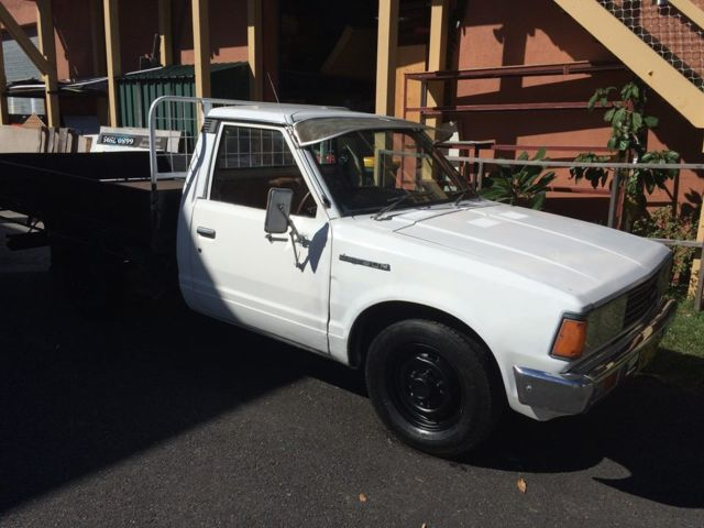 1981 Datsun 720 single cab ute