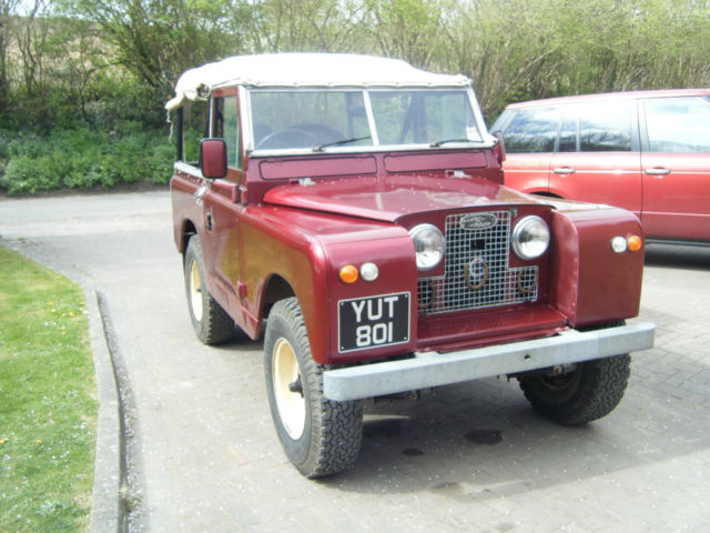 Rebuilt Series 2 Land Rover