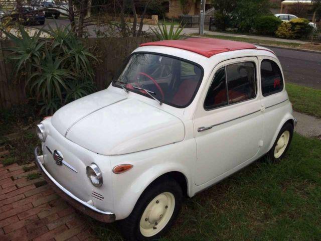 Fiat 500 Nuova 1959 Cinquecento