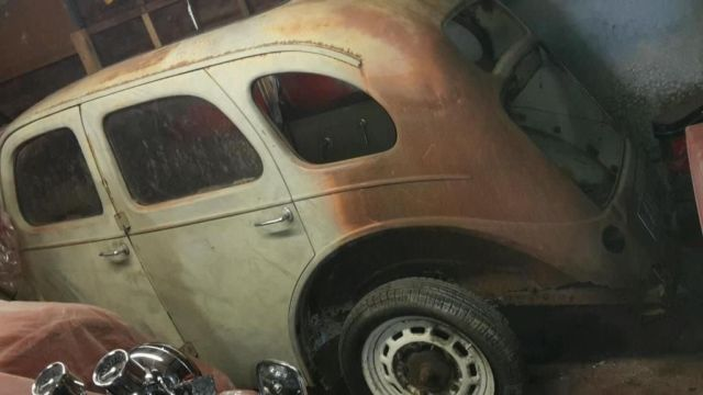 ford prefect ready to be made into a hot rod