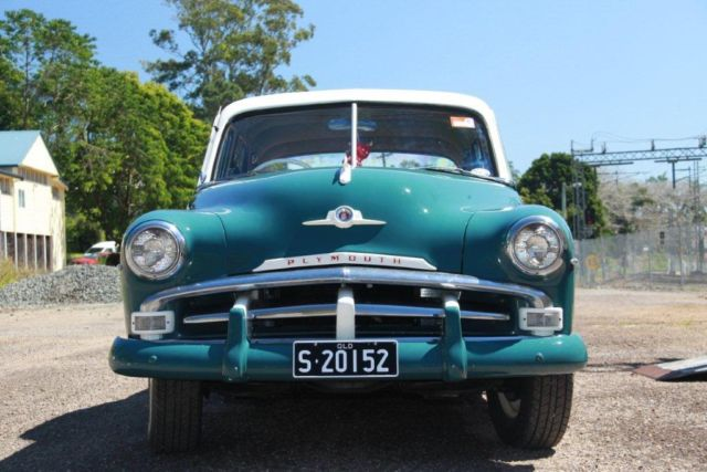 1952 plymouth for sale