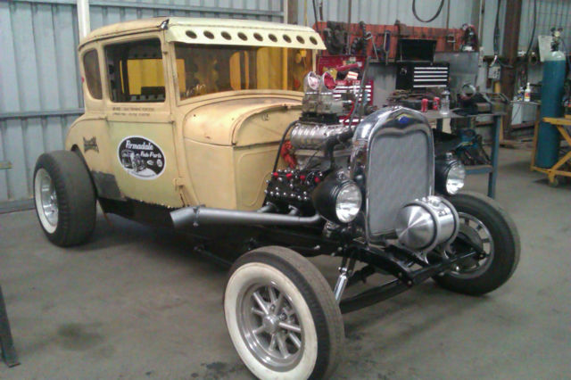 1928 Model A Coupe Ford Gasser