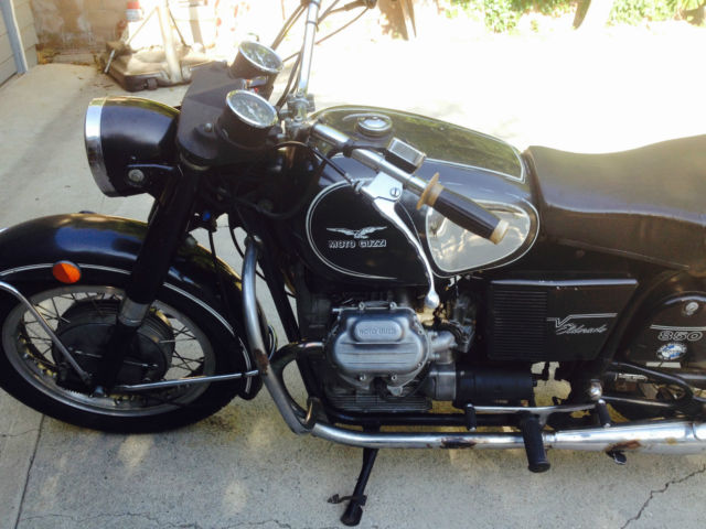 1973 Moto Guzzi Eldorado