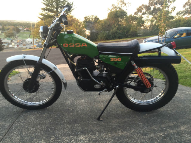 OSSA MAR 350 1979 Vintage Twin Shock Trials Bike