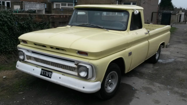 1966 CHEVROLET C10 FLEETSIDE TRUCK