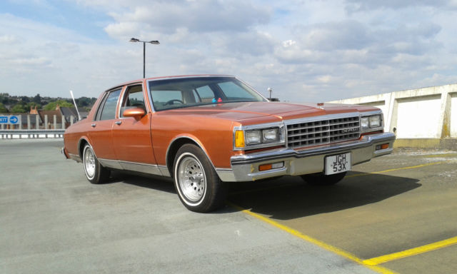 1981 Chevrolet Caprice Classic RHD