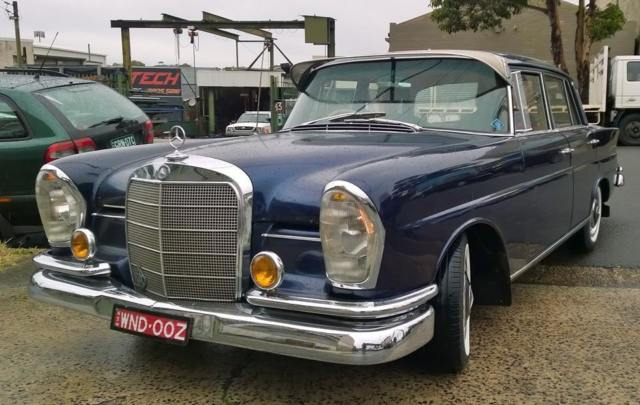 Mercedes 220se W111,Fintail Collection ,4 cars and parts